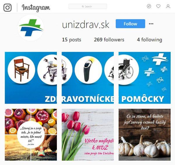 Unizdrav.sk & Unizdrav.cz – eshop so zdravotníckymi potrebami a pomôckami